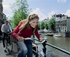 fietsmeisje